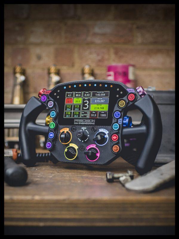 LM-X Steering Wheel