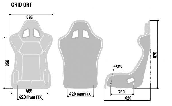 SPARCO SEAT GRID Q