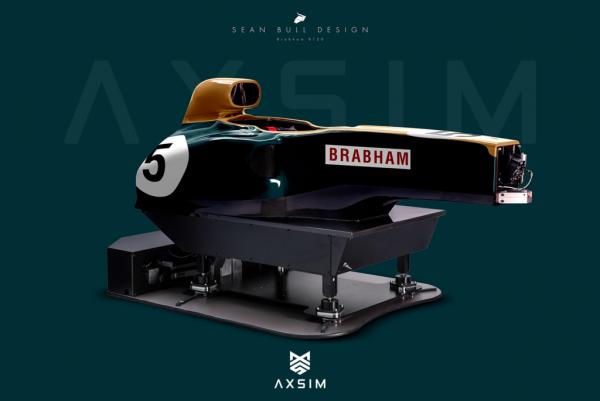 AXSIM Formula Simulator Brabham BT x
