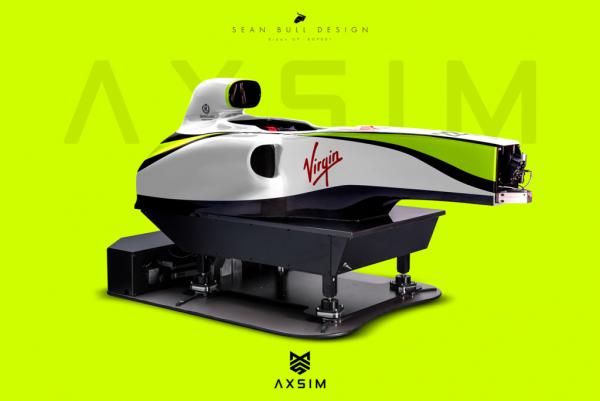 AXSIM Formula Simulator Brawn x