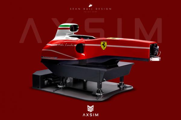 AXSIM Formula Simulator Ferrari T x