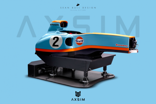 AXSIM Formula Simulator Gulf Porsche x
