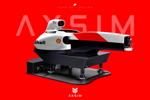 AXSIM Formula Simulator McLaren MP x
