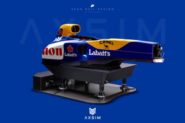 AXSIM Formula Simulator Williams FW x